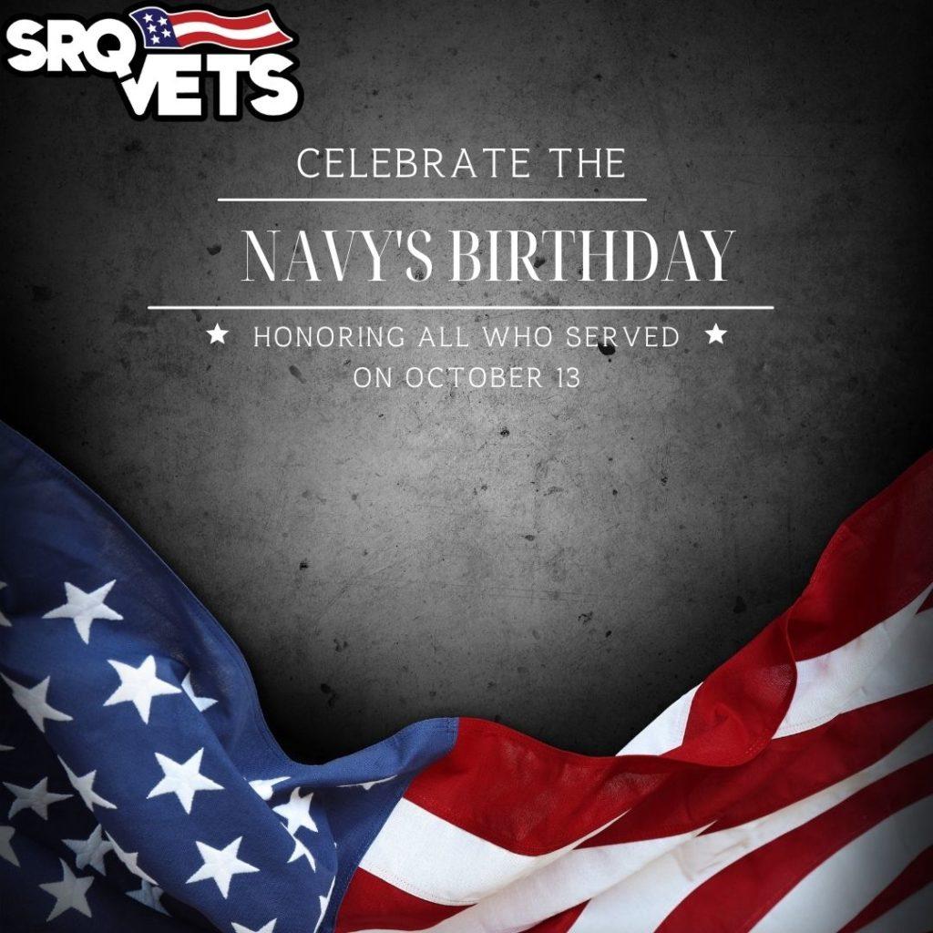 celebrate the navy's birthday on october 13